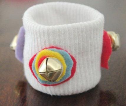 pulseras para bebes recien nacidos con sonajas