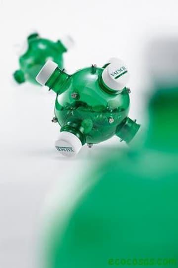 alcancias con botellas de plastico creativas