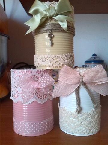 botes de leche decorados sencillos