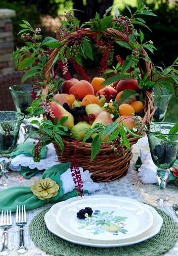 Espectaculares canastas de frutas decoradas como rico adorno manualidades para hacer en casa - Cuchillos para decorar fruta ...