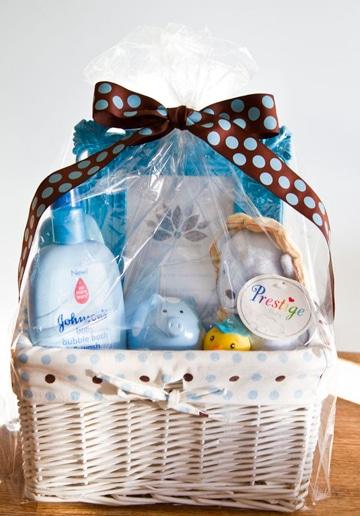canastas para baby shower para regalar