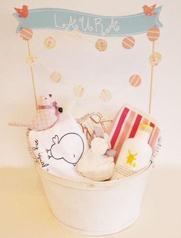 canastas para baby shower personalizadas