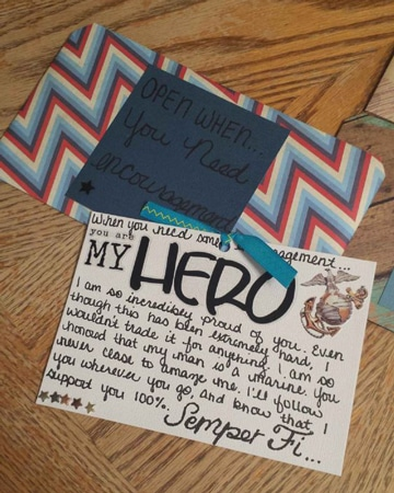 cartas hechas a mano bonitas