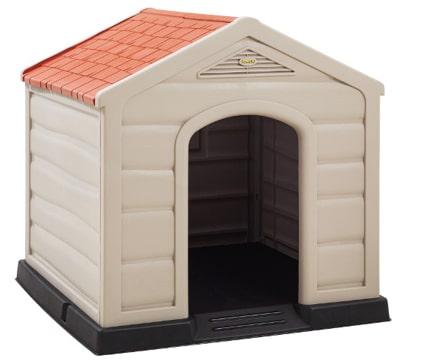 casas de plastico para perros practica