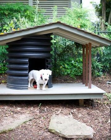 casas de plastico para perros sencilla