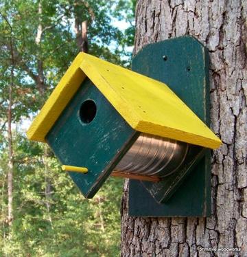 casas para aves silvestres con reciclaje