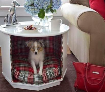 casas para perros caseras con muebles