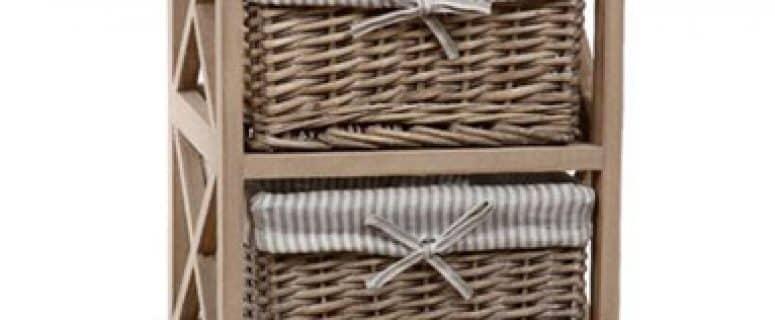 solucin para tu hogar con las cestas de mimbre decoradas - Como Hacer Cestos De Mimbre