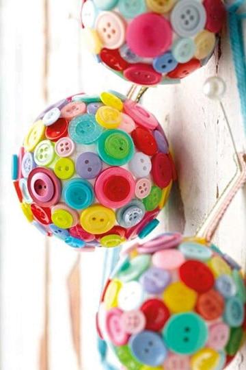 como hacer esferas navideñas con reciclaje