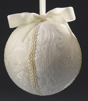 como hacer esferas navideñas decoradas