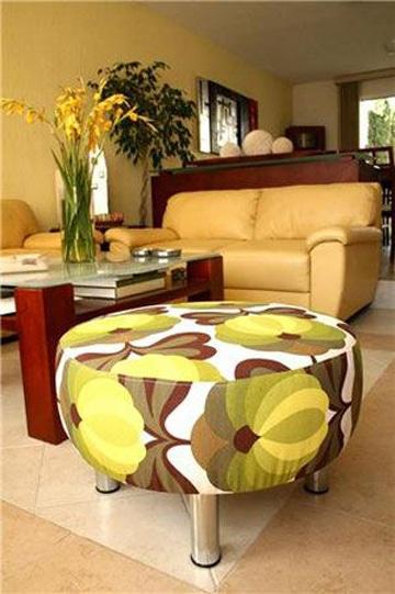Recicla y aprende como hacer sillones con llantas de moda - Como hacer cuadros faciles en casa ...