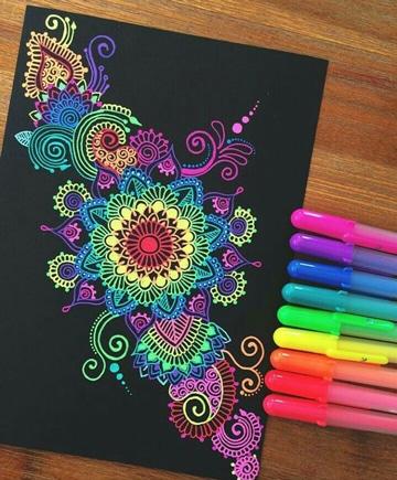 imagenes para decorar libretas con marcadores