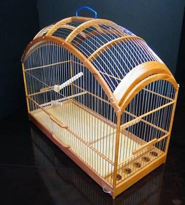 jaulas de madera para canarios bonitas