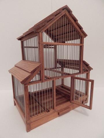 jaulas de madera para canarios super lindas