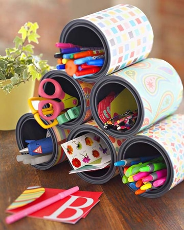 manualidades con latas de leche ideas reciclaje