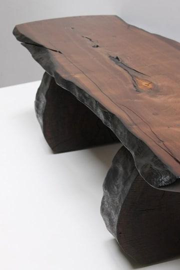 troncos de madera para sentarse super lindos
