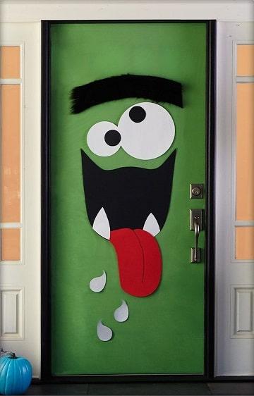 Encuentra los adornos para puertas halloween como los - Adorno puerta navidad ...