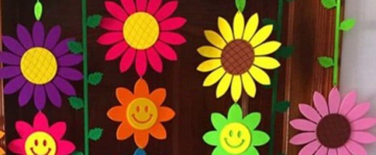 Que La Alegria Retone Con Adornos Primavera Para Preescolar