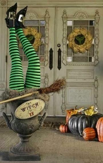 casas decoradas para halloween ideas
