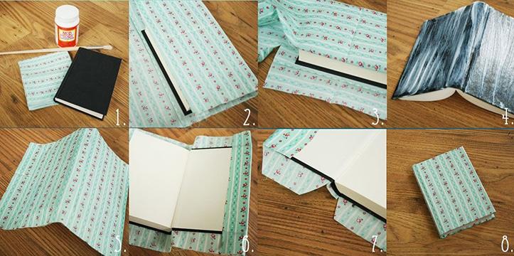 como forrar cuadernos bonitos juveniles