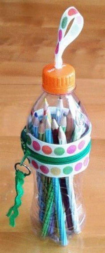 como hacer cartucheras escolares recicladas