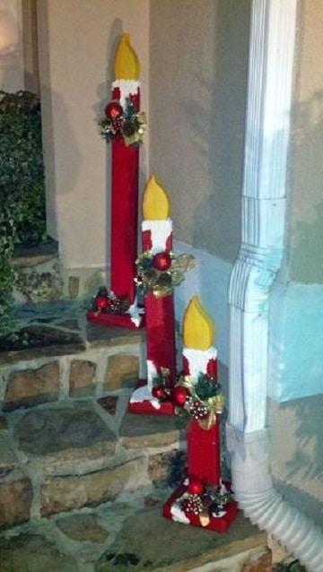 Aprende como hacer velas navide as en foami para decorar manualidades para hacer en casa for Velas navidenas