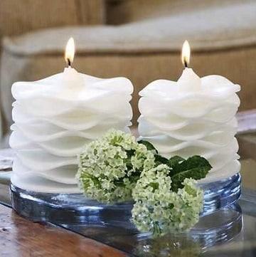 como se hacen las velas aromaticas para celebraciones