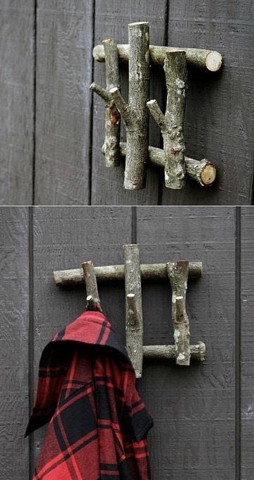 decoracion con madera reciclada para paredes