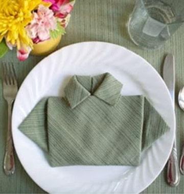 decoracion con servilletas de papel plato