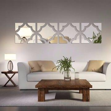 decoracion de salas con espejos diseños