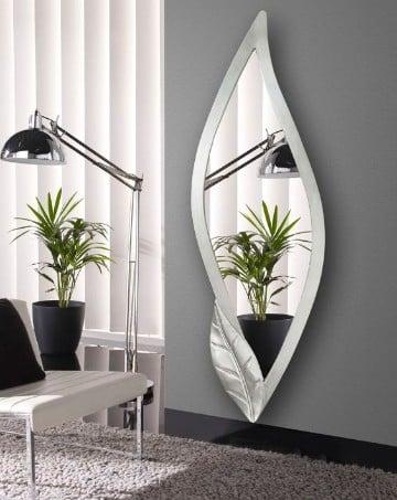 Estilo y equilibrio con la decoracion de salas con espejos for Espejos grandes para salon
