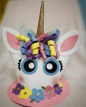 decoracion en foami para cumpleaños para niña
