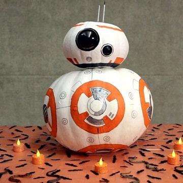 Encuentra ideas nuevas para decorar calabaza halloween - Decorar calabaza halloween ninos ...