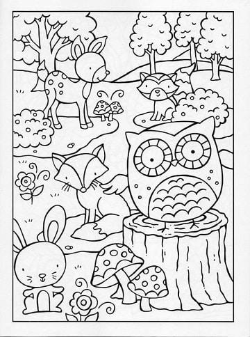 Te Obsequiamos Moldes Con Dibujos De La Primavera Para Niños