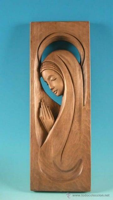 imagenes de artesanias en madera virgen