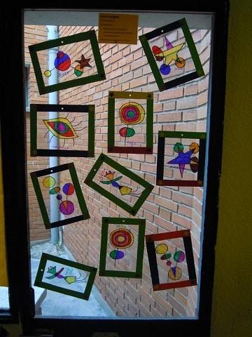trabajos de artistica para primaria exposiciones