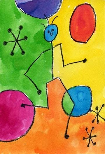 trabajos de artistica para primaria pintura