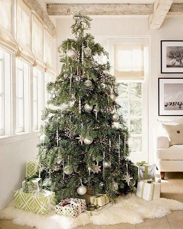 arbol de navidad con regalos ideas