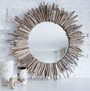 artesanias en madera paso a paso para espejo