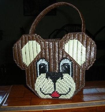 bolsas de rafia hechas a mano para niñas