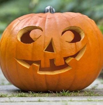 cara de calabazas para halloween clasica