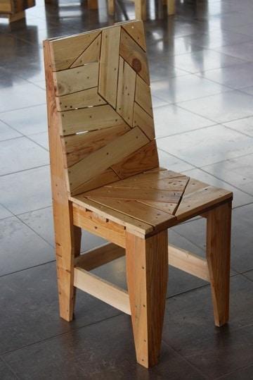 como hacer muebles rusticos silla