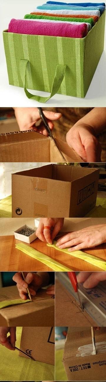como hacer trabajos de reciclaje decoradas