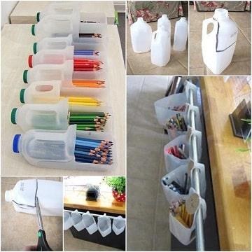 como hacer trabajos de reciclaje para maestros