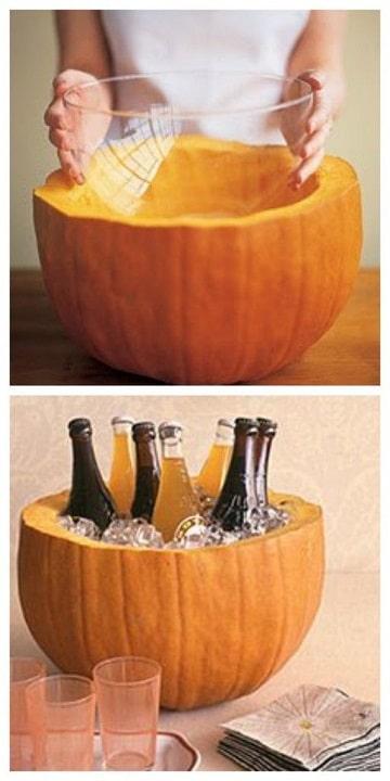 decoracion de accion de gracias para bebidas