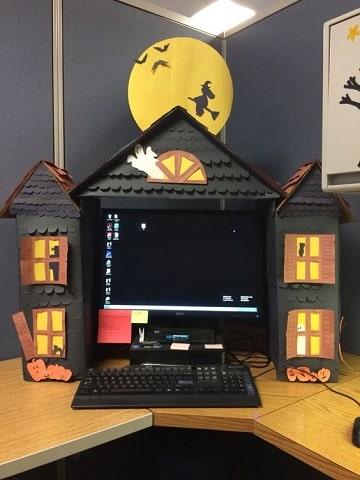 decoracion de halloween para oficina originales