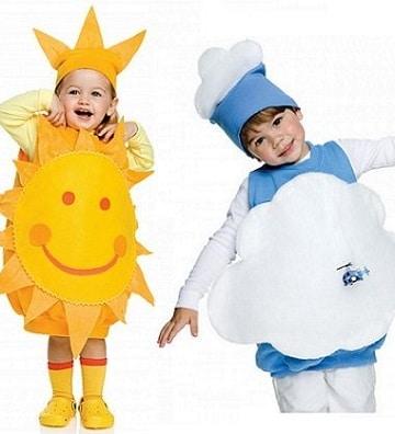 disfraces baratos para niños faciles