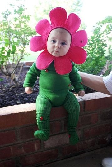 disfraces de carnaval para bebes de la naturaleza