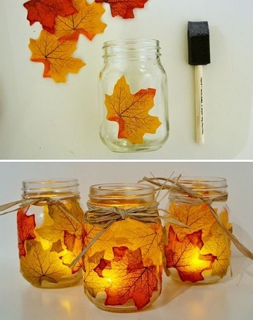 ideas con frascos de mermelada para decorar