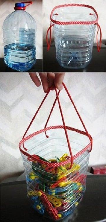 manualidades recicladas utiles para los niños